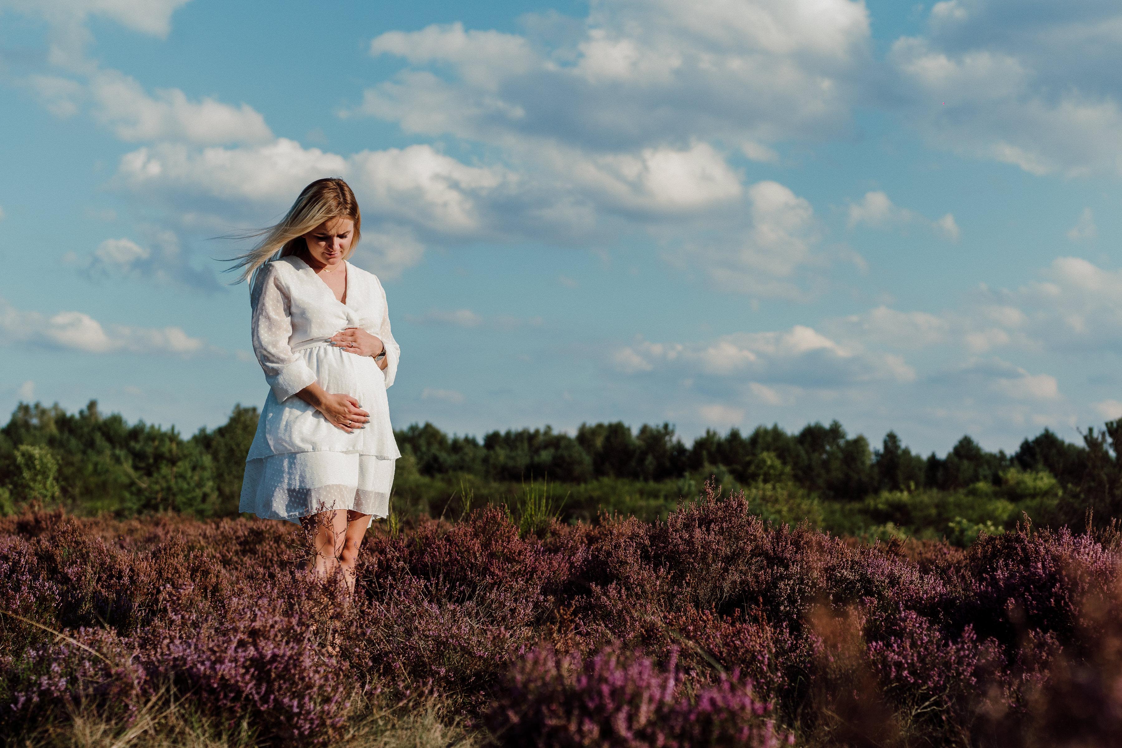 Sesja brzuszkowa - ciążowa